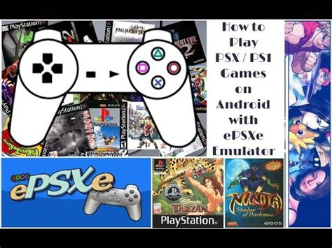 emuparadise epsxe how to download play sony psx ps1 games on android with