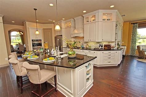 Model Kitchen Designs Another View Of The Pretty Model Home Kitchen Kitchen Of Desire Black Granite