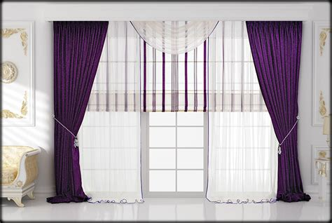 Violet Curtains Bedroom Design Bedroom Violet Drapery Curtain Ideas In