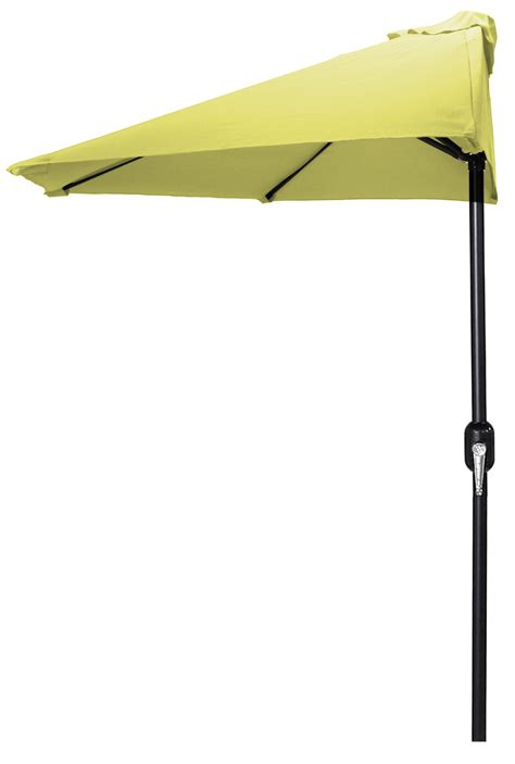 Half Patio Umbrella Half Patio Umbrella In Assorted Colors Outdoor Living Patio Furniture Patio Umbrellas Bases