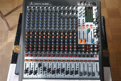 Mixer Xenyx Xl 3200 xenyx xl1600 behringer xenyx xl1600 audiofanzine
