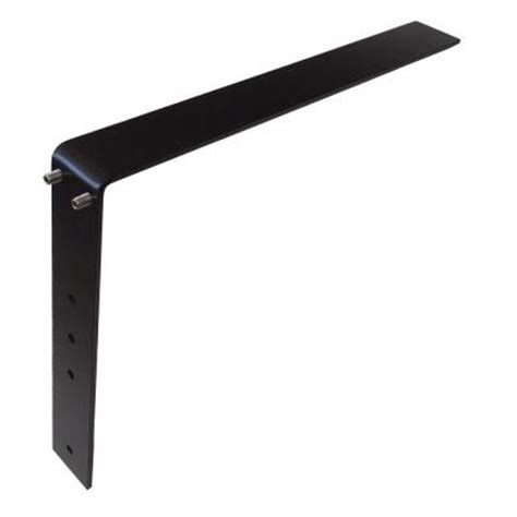 low profile 16 in steel countertop support adjustable