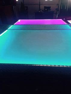 ping pong table rental chicago glow in the foosball table neon light foosball table
