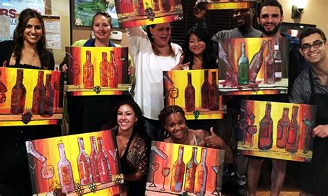 redeem paint nite groupon paint up to 49 las vegas groupon
