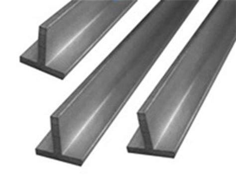 steel t section tee section t beam t bar handy steel stocks
