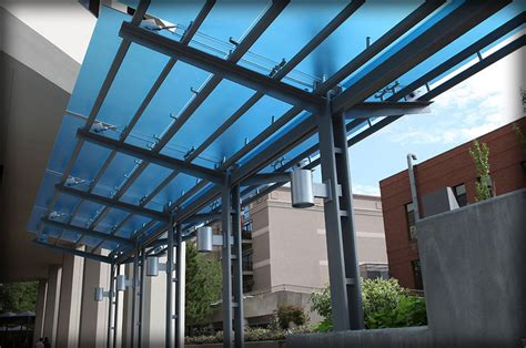 Kanopi Acrylic dac architectural glass canopies translucent awnings