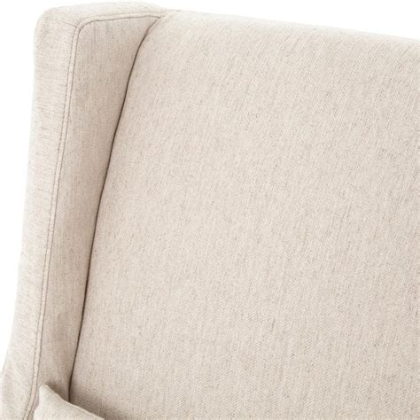 linen slipcovers wilshire modern classic slipcover cream linen swivel arm