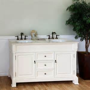 60 Inch White Vanity Bellaterra Home White 60 Inch Vanity Contemporary Bathroom Sinks By Overstock