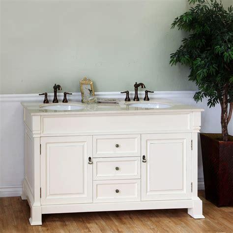 cream bathroom vanity bellaterra home cream white 60 inch double vanity