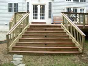 deck stairs pictures