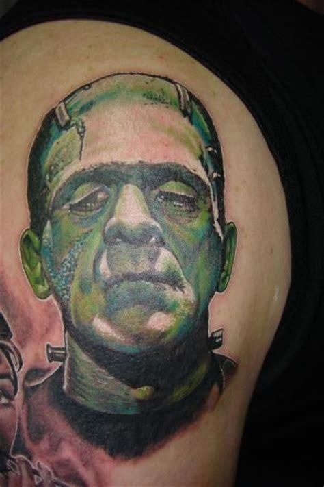 new school frankenstein tattoo top old school frankenstein tattoo images for pinterest