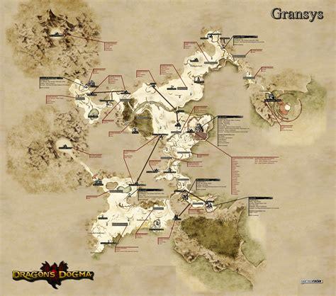 dragons dogma gransys map guide gamesradar