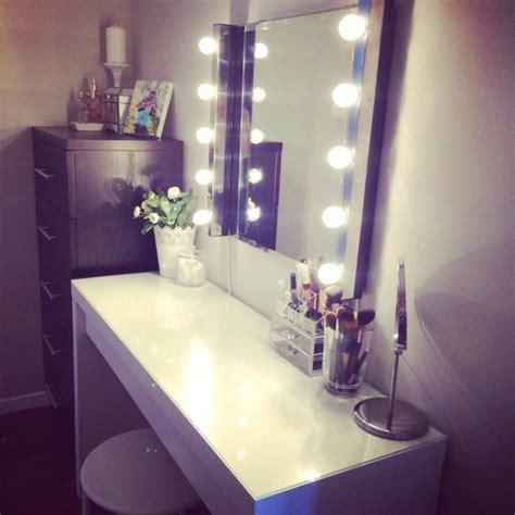 beleuchtung zum schminken moderner schminktisch mit spiegel h 252 bsche fotos