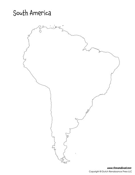 printable maps south america south america map tim s printables