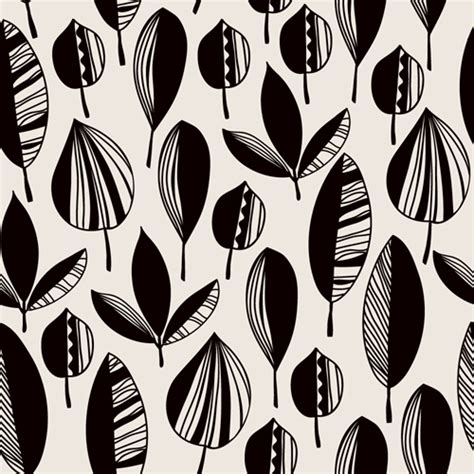 leaf pattern vector files leaves textures pattern seamless vector 09 vector