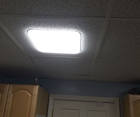 Ceiling Tile Light Fixture Best 25 Led Fixtures Ideas On Led Replacement Bulbs The Frugality And Edison Led