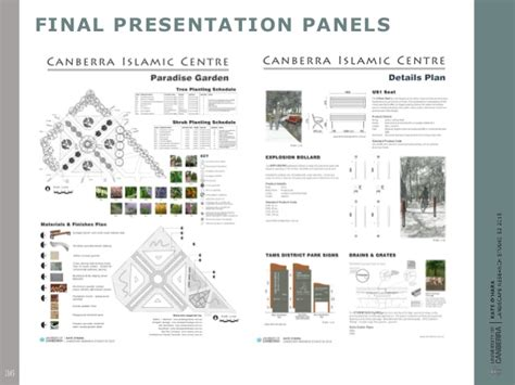 layout of research report slideshare landscape design research report