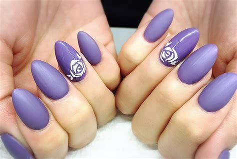 matte purple nail matte purple acrylic nails feat madam glam
