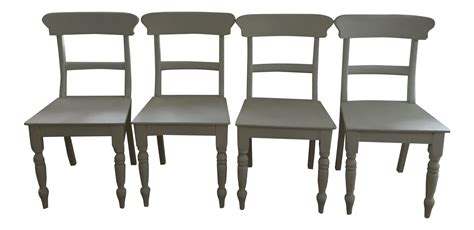 Restoration Hardware Chairs Dining Restoration Hardware White Dining Chairs Set Of 4 Chairish