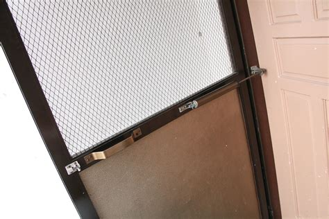 Fixing A Screen Door by 3 Easy Ways To Replace The Screen On A Screen Door