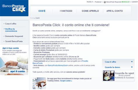 banco posta in proprio poste sul web 187 argomenti vari