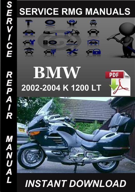 how to download repair manuals 2002 bmw 7 series interior lighting 2002 2003 2004 bmw k 1200 lt service repair manual download downl