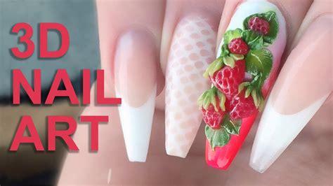 3d Acrylic Nail Tutorial