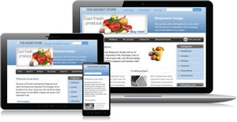 responsive design templates free responsive ecommerce templates shopping cart software from ect