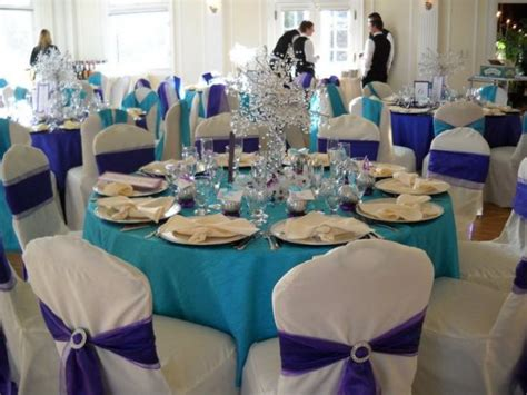 purple and turquoise wedding reception cesley s a release of one white dove followed by a
