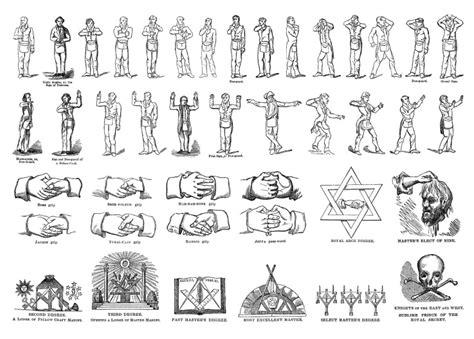 simboli illuminati massoneria i gesti di riconoscimento segreti della massoneria
