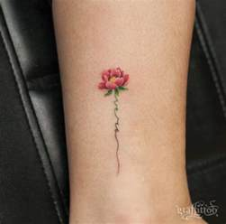 cute flower tattoos 40 cute and tiny floral tattoos for women tattoos hub