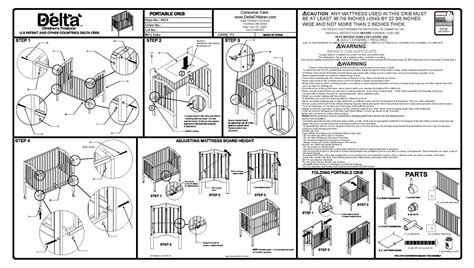 how to assemble a baby crib crib assembly directions baby crib design inspiration