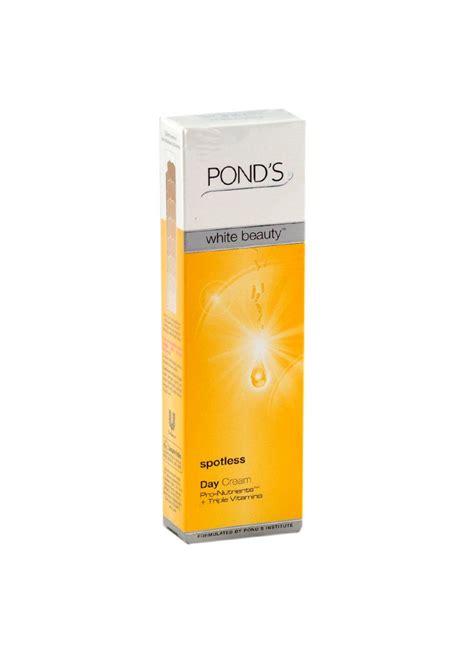 Ponds Pelembab ponds pelembab wajah day spotless tub 20g