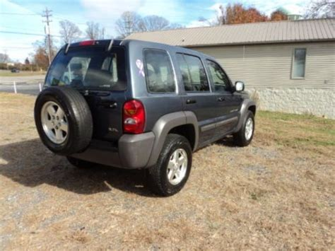 Jeep Sport Mpg Purchase Used 2002 Jeep Liberty Sport 4x4 Low Mileage