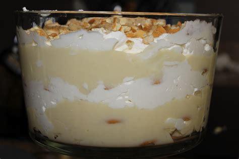 Handmade Puddings - stories of the stidhams banana pudding
