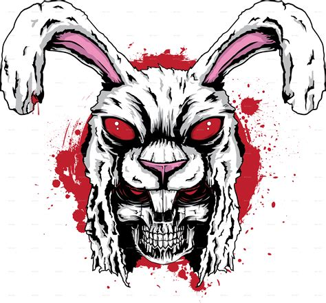 killer bunny killer rabbit by douglast graphicriver