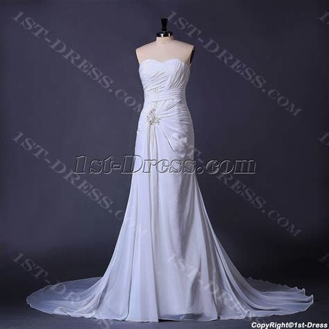 ivory beachy casual bridal gown 1st dress com