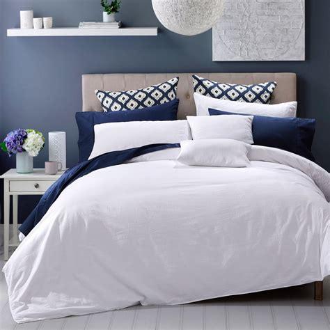 seersucker bedding seersucker white by daniadown bedding beddingsuperstore com