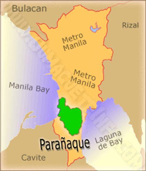 map of paranaque city para 241 aque city novena mecca of metro manila