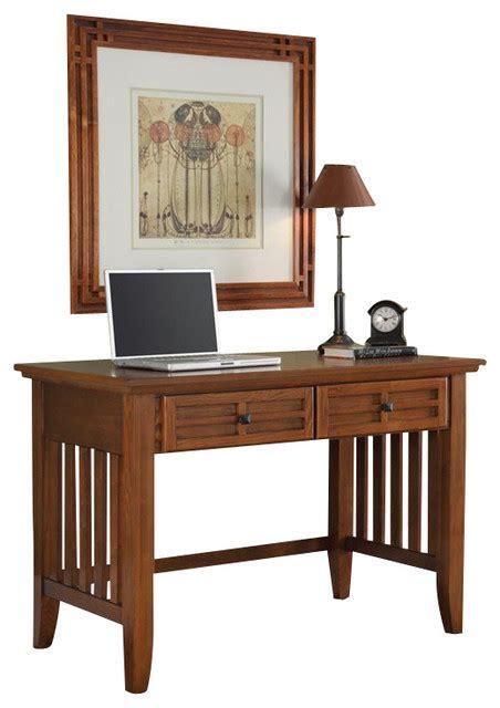 craftsman style computer desk home styles arts and crafts desk craftsman