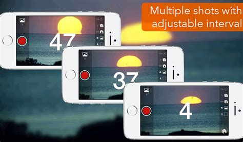 iphone camera  timer apps