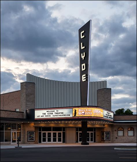 clyde theatre  fort wayne indiana photograph