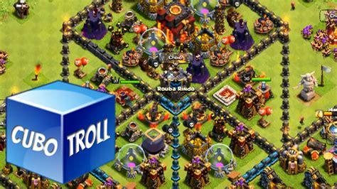layout zueiro cv 7 layout zueiro cv 7 clash of clans layout troll cubo