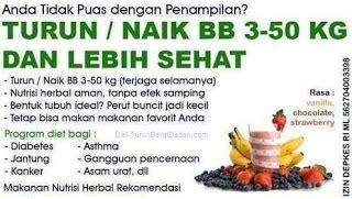 Paket Diet Optimal Tanpa Olahraga Herbal Halal Aman Busui Tinqu herbalife cara tepat diet sehat diet bugar dan kantong
