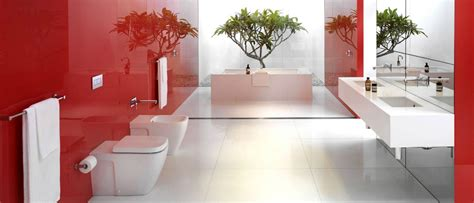 red and white bathroom ideas flourish your bathroom with the aurora red pantone