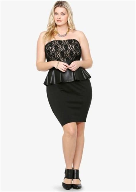 plus size clothing fashions torrid plus size dresses peplum plus size dress chic and stylish completed with