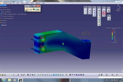 catia video tutorial fem analysis youtube tutorial how to analyze a distributed force in catia v5