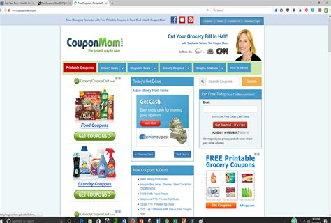 good website for printable grocery coupons coupons websites with biggest discounts and hot deals