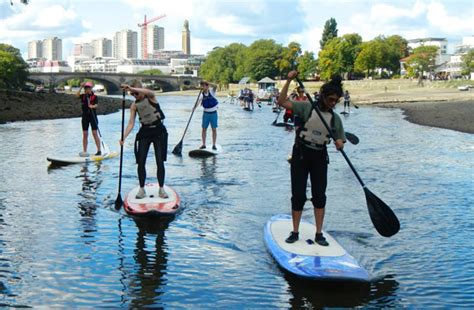 thames river activities thames tidefest free kayak stand up paddleboarding