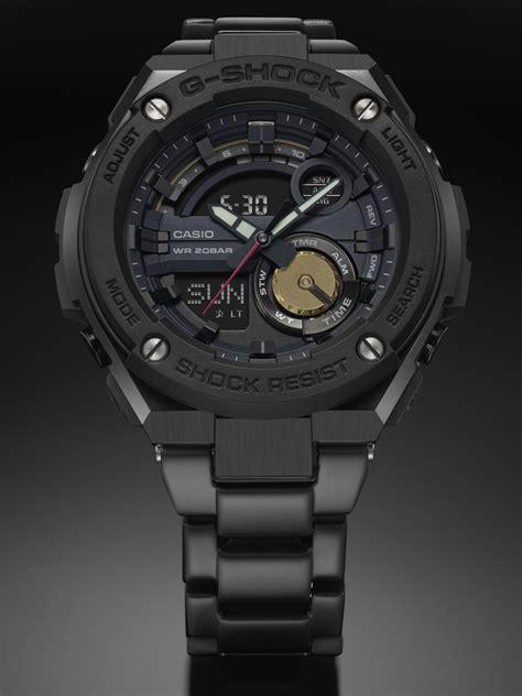 Ready G Shock Casio Premium Ga500 Black Gold Hitam Emas Jam robert geller x g shock gst200rbg